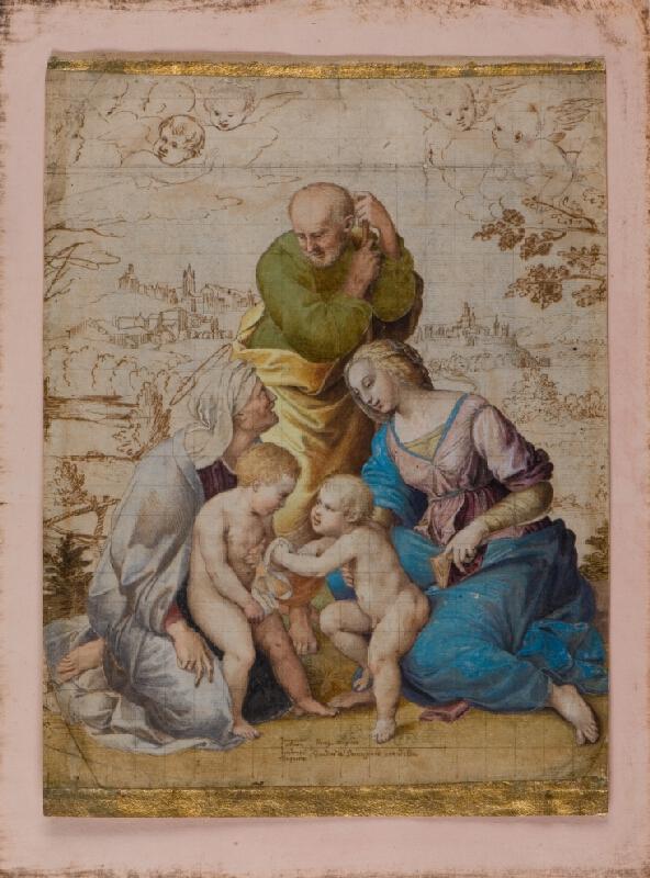Santi Raffael - podle - Sv. Rodina (Madona Canigiani)