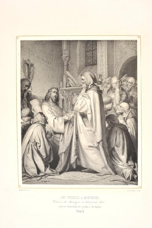 Josef  Vojtěch Hellich - Sv. Cyril a Metoděj