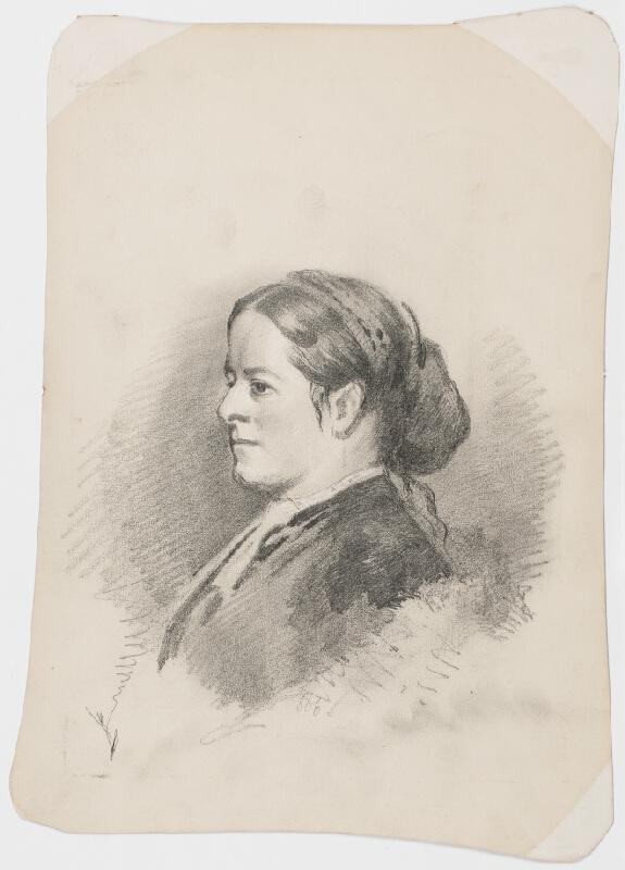R. Hiller - Podobizna dámy