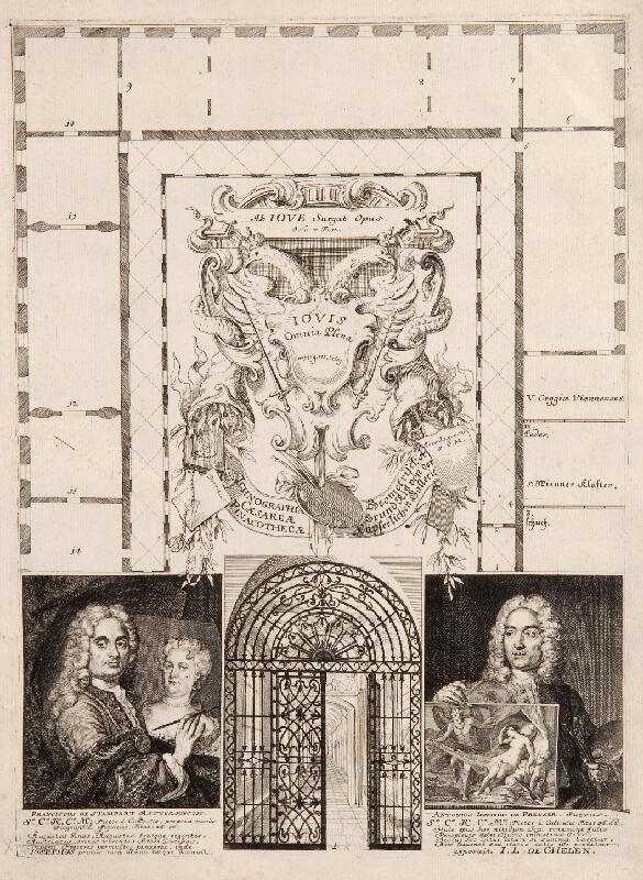 Johann Leopold von Ghelen - Franciscus de Stampart, Antonius Josephus de Prenner