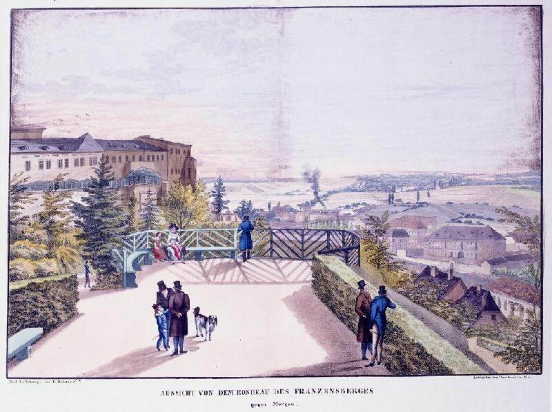 František (Franz) Richter - Aussicht von dem Rondeau des Franzensberges