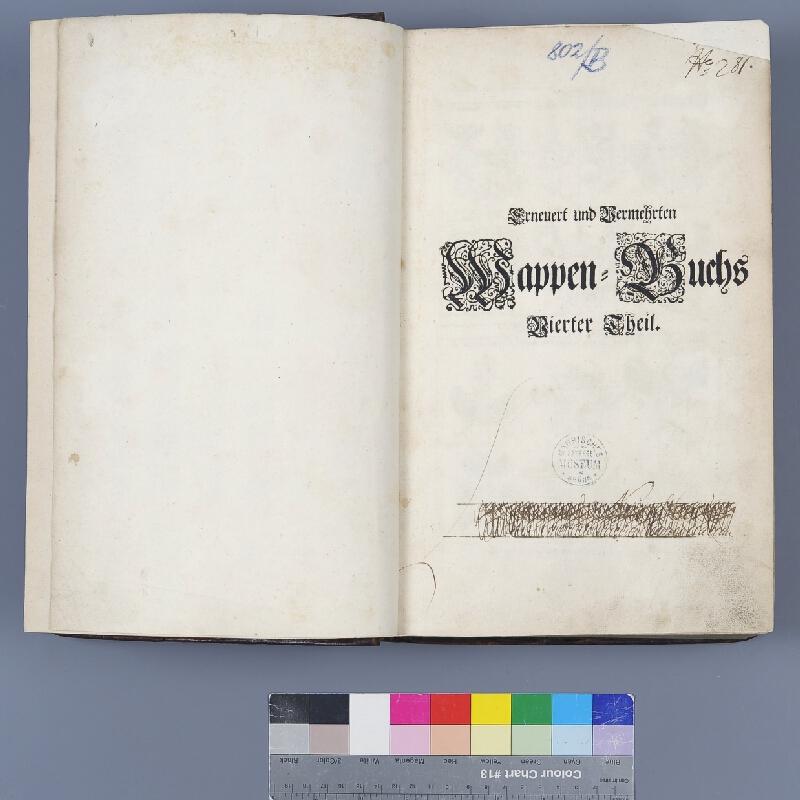 Christian Sigmund Froberg, Paul Fürst, Johann Siebmacher - Erneuert und Vermehrten Wappen- Buch. [4.,5.,6. díl]