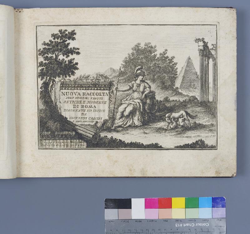 Giovanni Cassini, Venanzio Monaldini - Nuova raccolta delle megliori vedute antiche e moderne di Roma