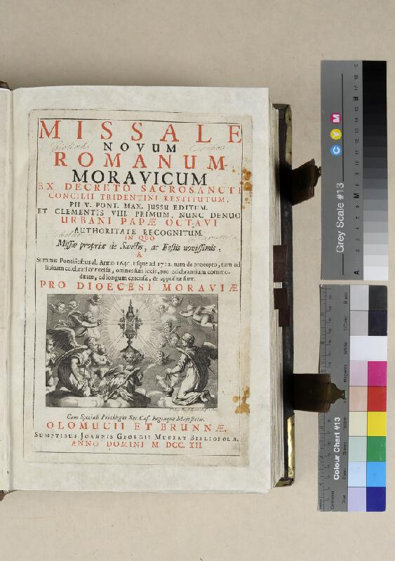 Johann G. Muffat, neznámý autor, Philipp Jacob Leidenhoffer - Missale Novum  Romanum-Moravicum