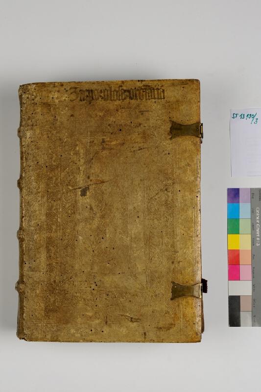 Johann Froben,  neznámý autor - Biblia cum glosa ordinaria. Tertia pars