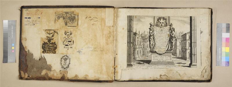 Pietro Ferrerio, Giovanni Giacomo Rossi, Gio. Giacomo Falda - Palazzi di Roma de piu. celebri architetti disegnati da Pietro Ferrerio