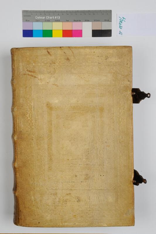 neurčený autor, Jean Antoine Huguetan - Corpus iuris canonici in ttres partes distinctum. 1.