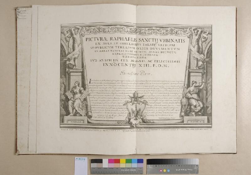 Raffael, Francesco Aquila - Picturae Raphaelis Sanctii Urbinalis ex aula et conclavibus Palatii Vaticani