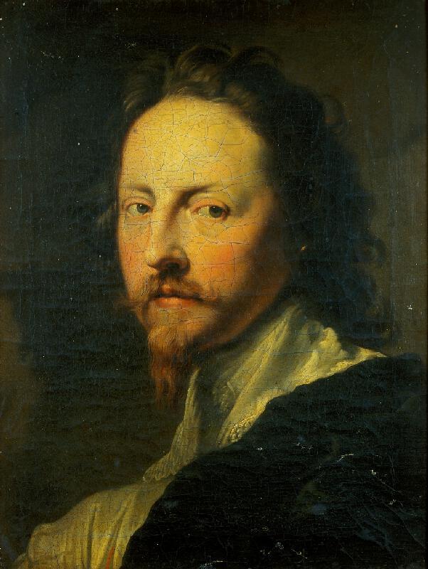 neznámý malíř - Portrét muže v krajkovém límci (kopie podle V. Dycka)