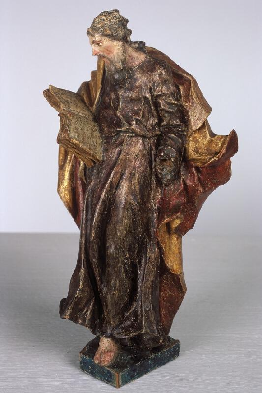 neznámý sochař moravský - Soška světce, Sv. Pavel(?)