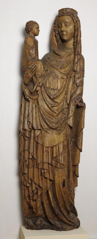 neznámý sochař moravský - Madona z Buchlovic