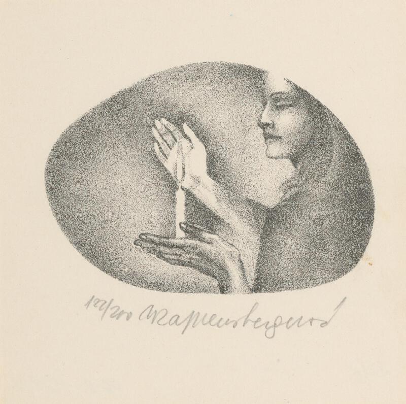 Naďa Rappensbergerová-Jankovičová - PF 1972 - Graphic art
