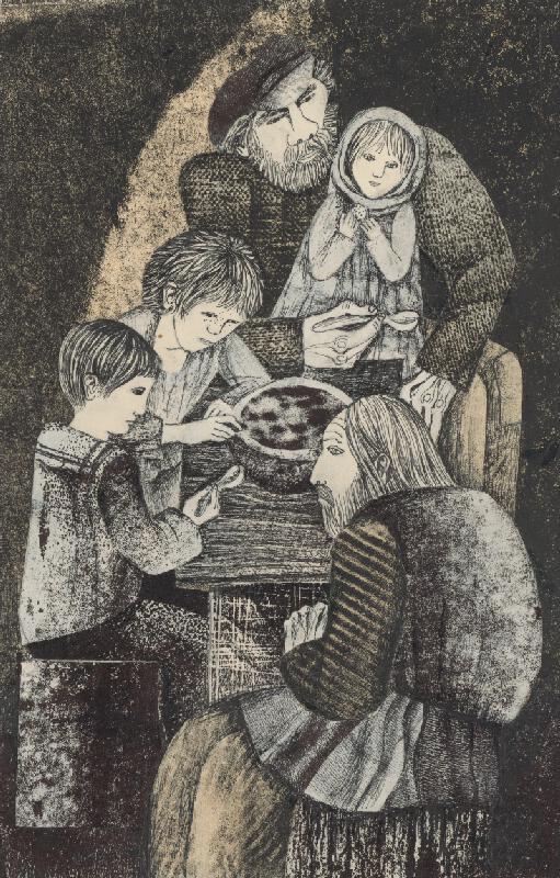 Běla Kolčáková - Obed v podzemí