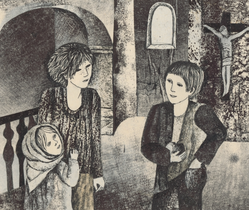 Běla Kolčáková - Stretnutie v kaplnke