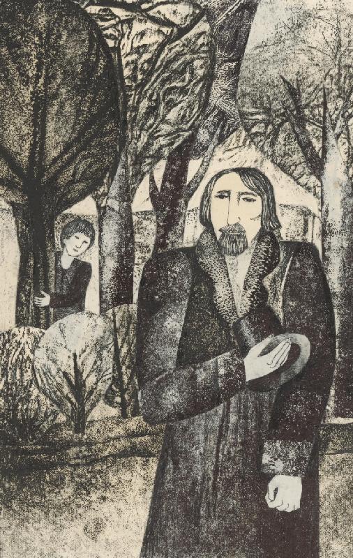 Běla Kolčáková - Vasia a jeho otec
