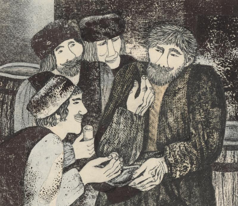 Běla Kolčáková - Pán Tyburcij a jeho poslucháči