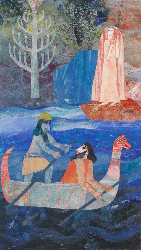 Běla Kolčáková - Gilgameš sa plaví cez more smrti