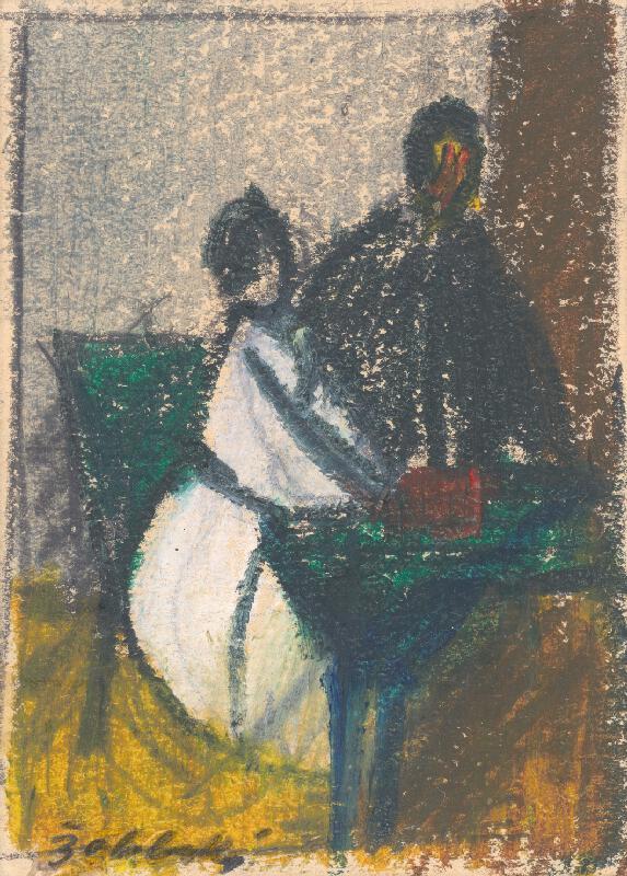 Ján Želibský - Pri stole