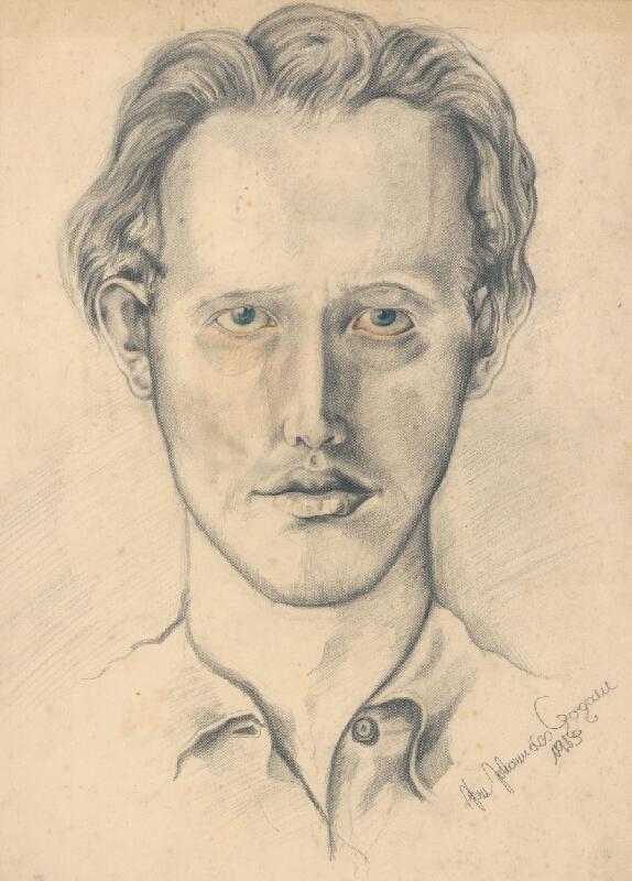 Ján Johanides - Autoportrét