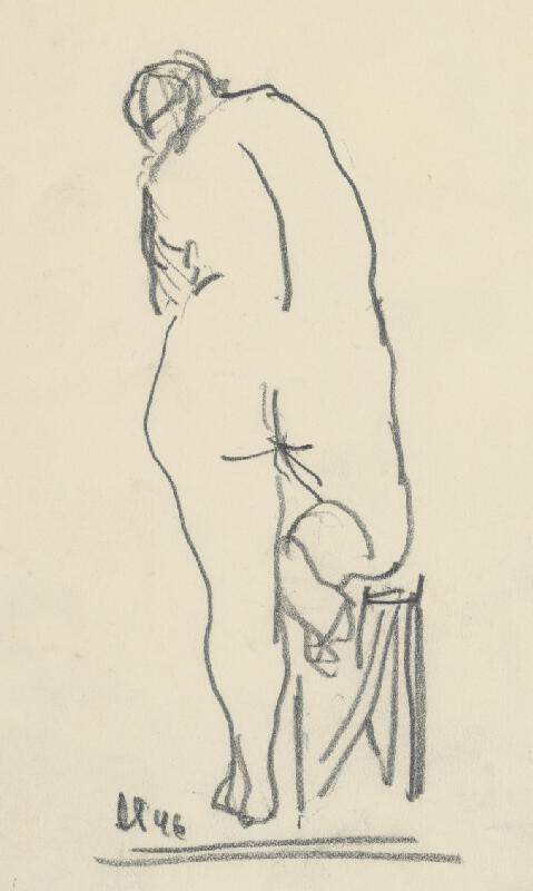 Rudolf Pribiš - Ženský akt