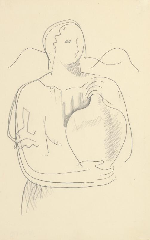 Mikuláš Galanda - Žena s džbánom