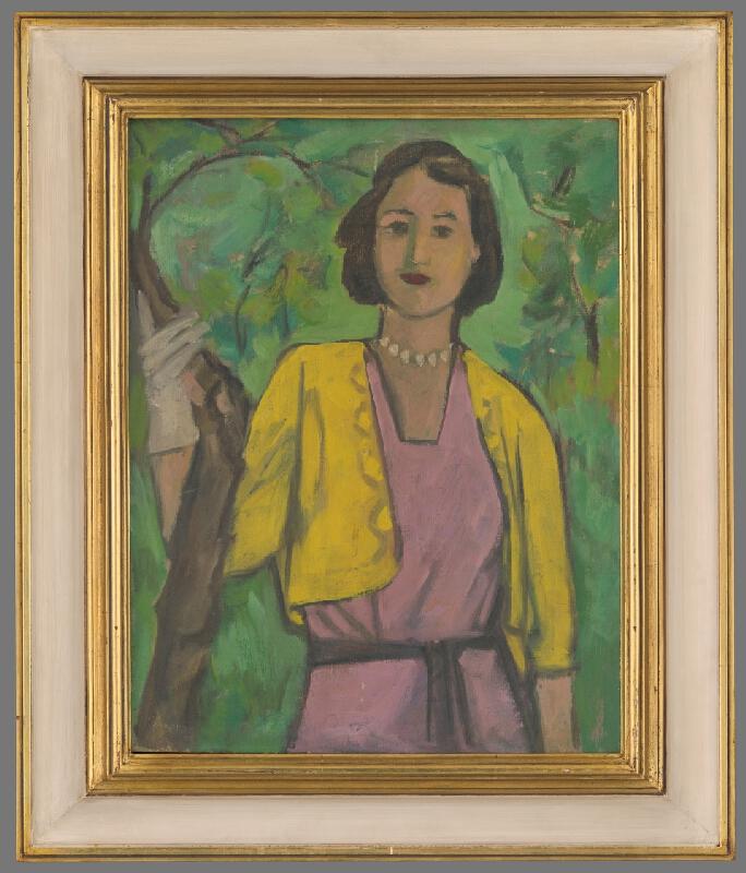Eugen Nevan – Žena v sade