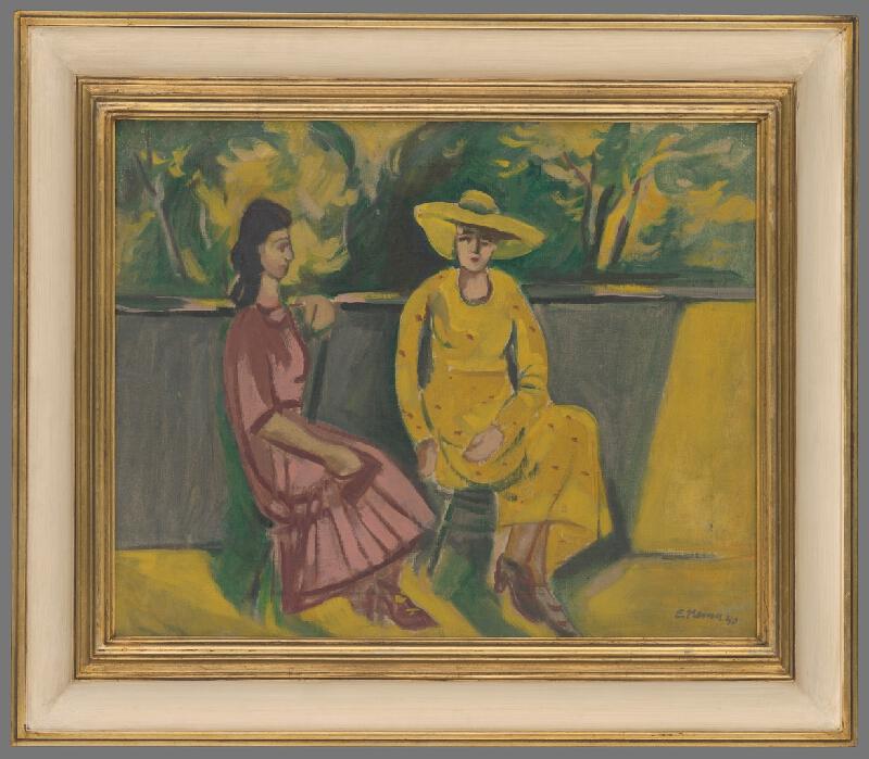 Eugen Nevan - Ženy na terase