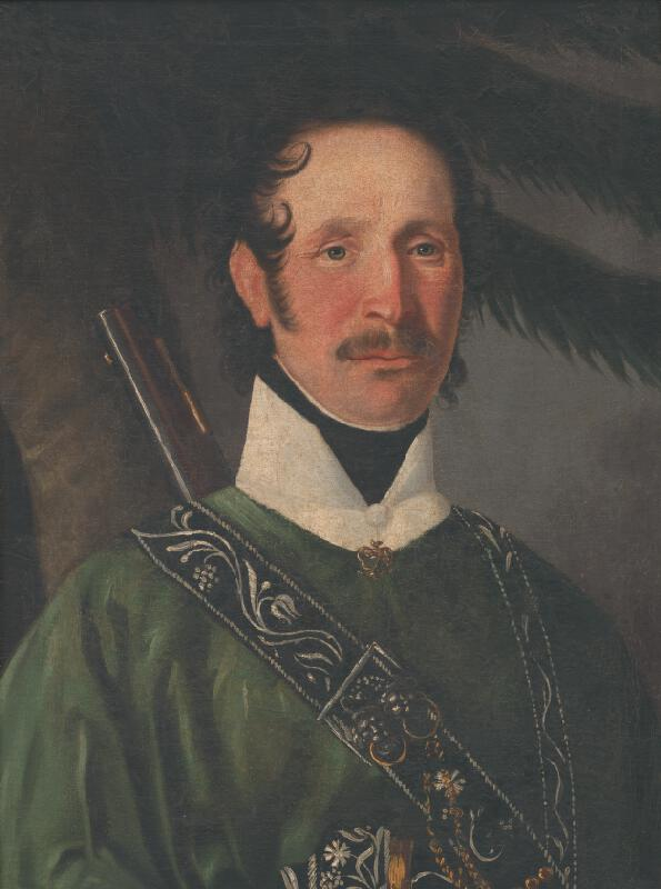 Slovenský maliar zo začiatku 19. storočia - Portrét Michala Kubínyiho
