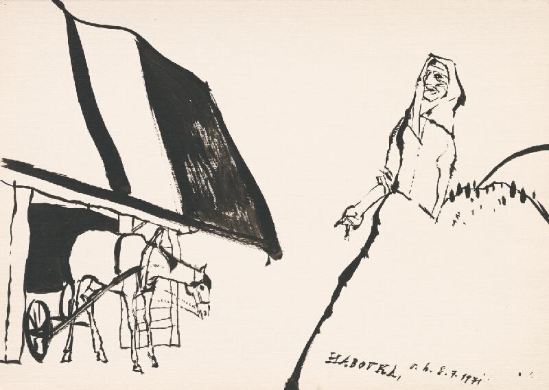 Vincent Hložník - Kresba z Oravy XXXVIII.