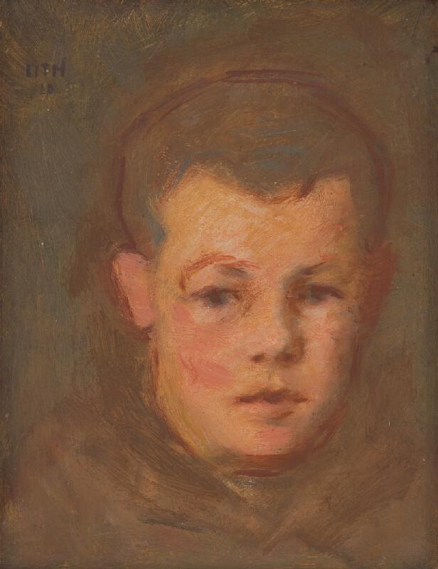Milan Thomka Mitrovský - Hlava chlapca