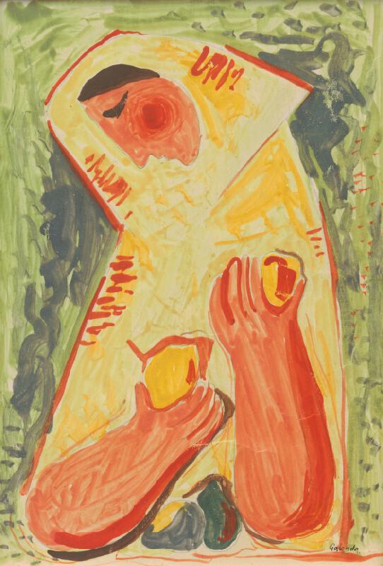 Mikuláš Galanda - Žena s ovocím