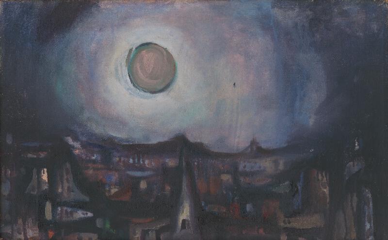 Viliam Chmel - Ružový mesiac nad mestom