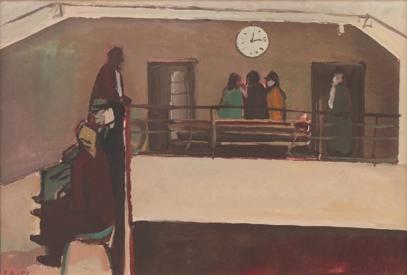 Ferdinand Hložník - V nemocnici