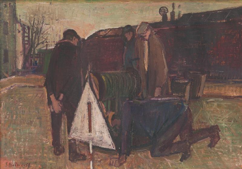 Ferdinand Hložník - Na ulici