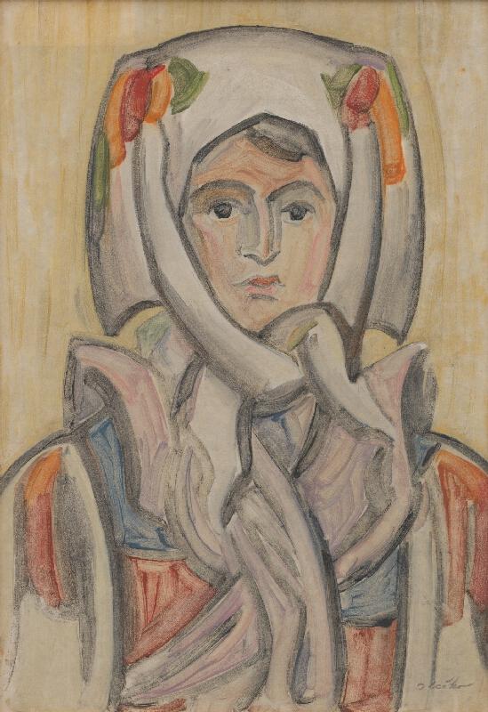 Jozef Ilečko - Hlava ženy