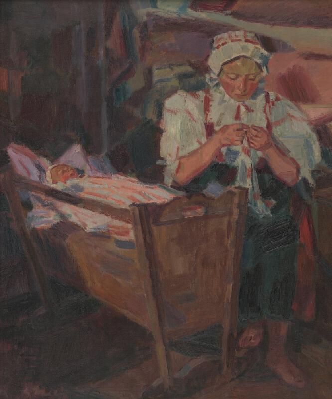 Gustáv Mallý - Pri kolíske