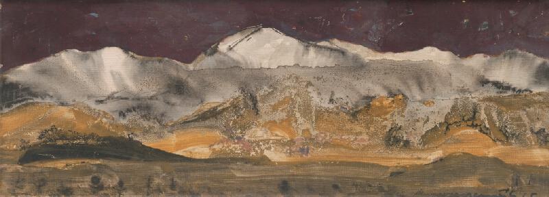 Július Nemčík - Jeseň pod Tatrami