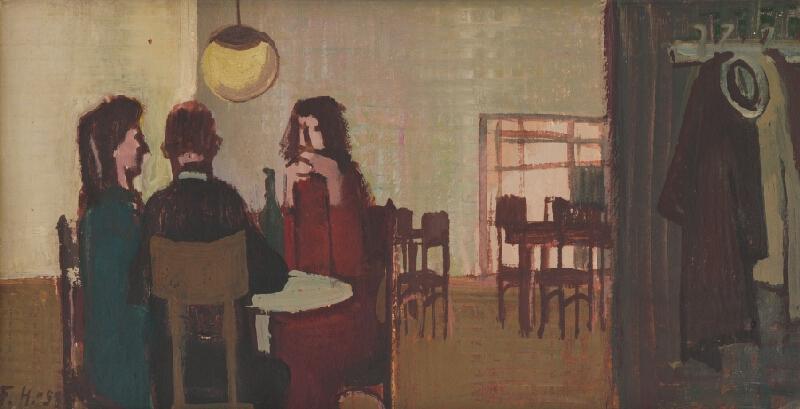 Ferdinand Hložník - Pri káve