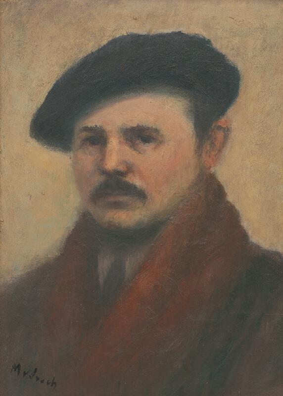 Ján Mudroch - Portrét Františka Kudláča