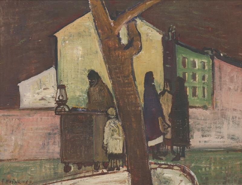 Ferdinand Hložník - Predavačka gaštanov
