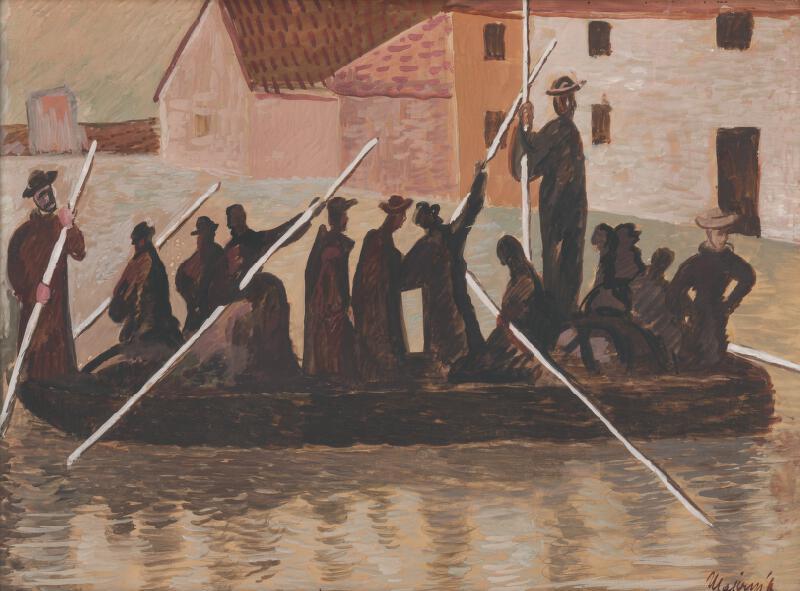 Cyprián Majerník - Povodeň
