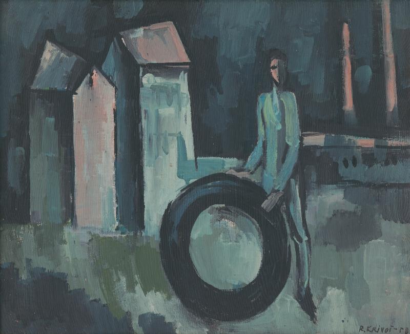 Rudolf Krivoš - Chlapec s pneumatikou