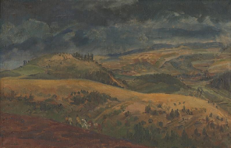 Július Nemčík - Povstalecká krajina
