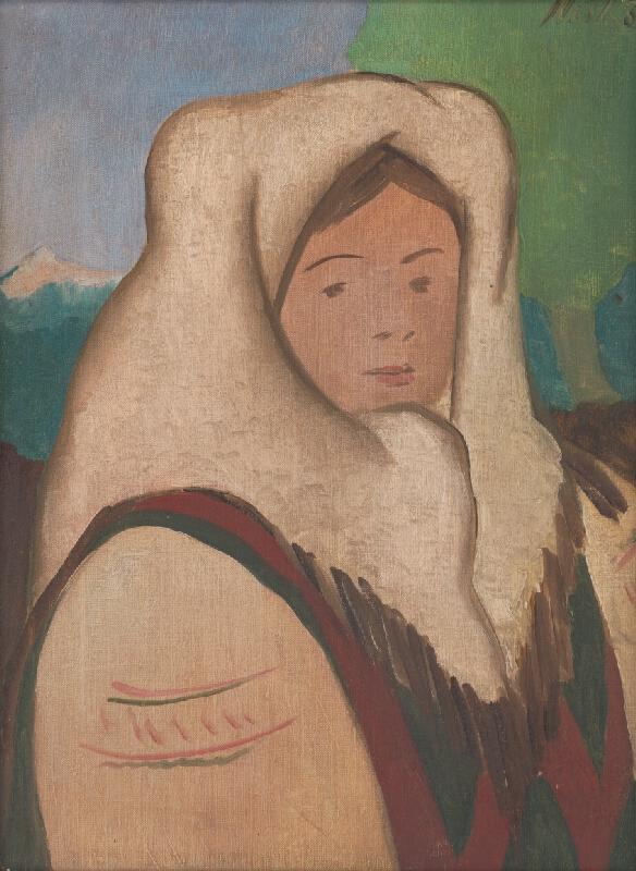 Jozef Ilečko - Dievča v kroji