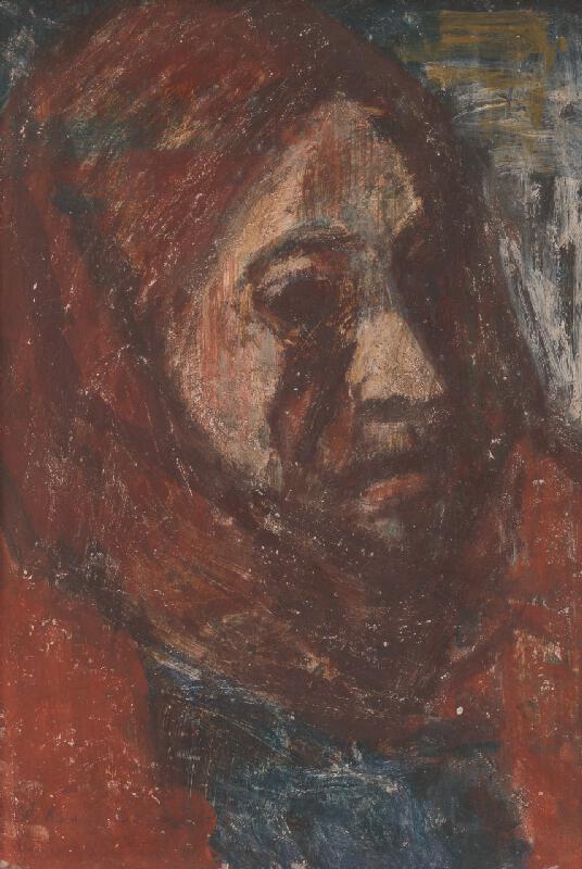 Mária Medvecká - Stará žena