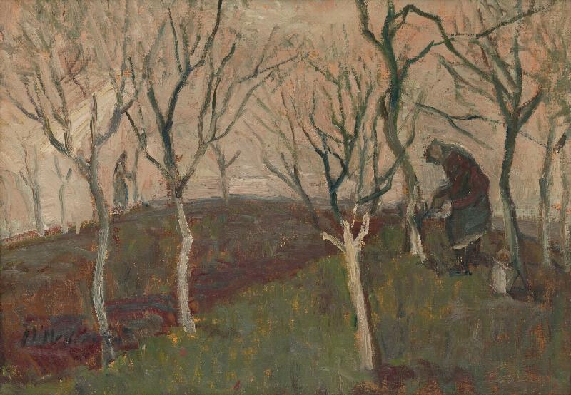 Mária Medvecká - Bielenie stromov