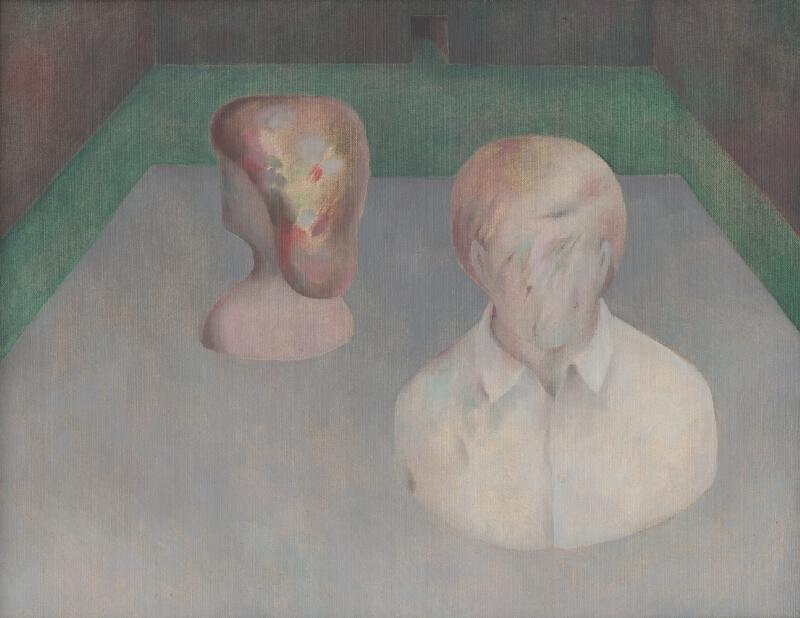 Milan Paštéka - Zátišie s hlavami