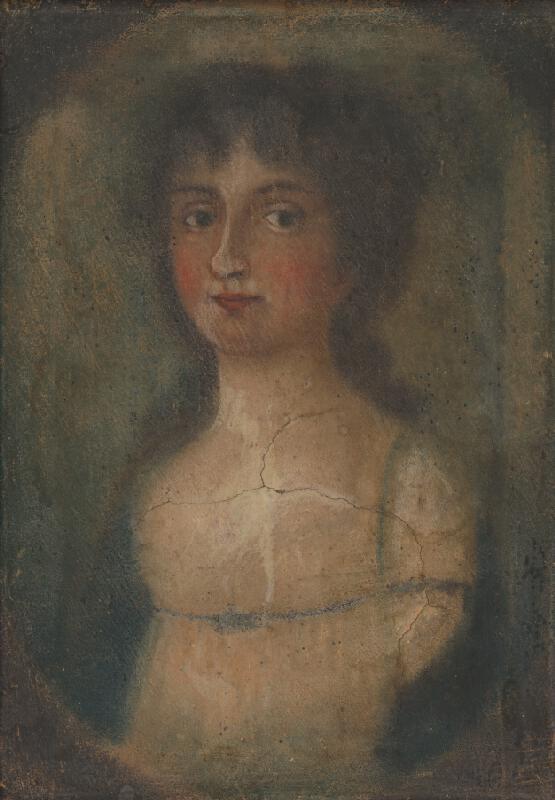 Neznámy autor – Portrét ženy Barbory Merse de Szinye