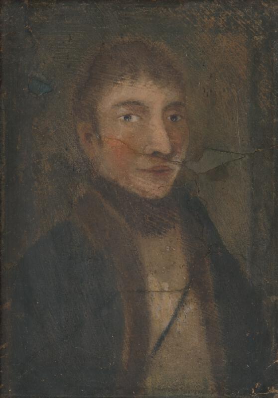 Neznámy autor - Portrét muža Daniela Varádyho