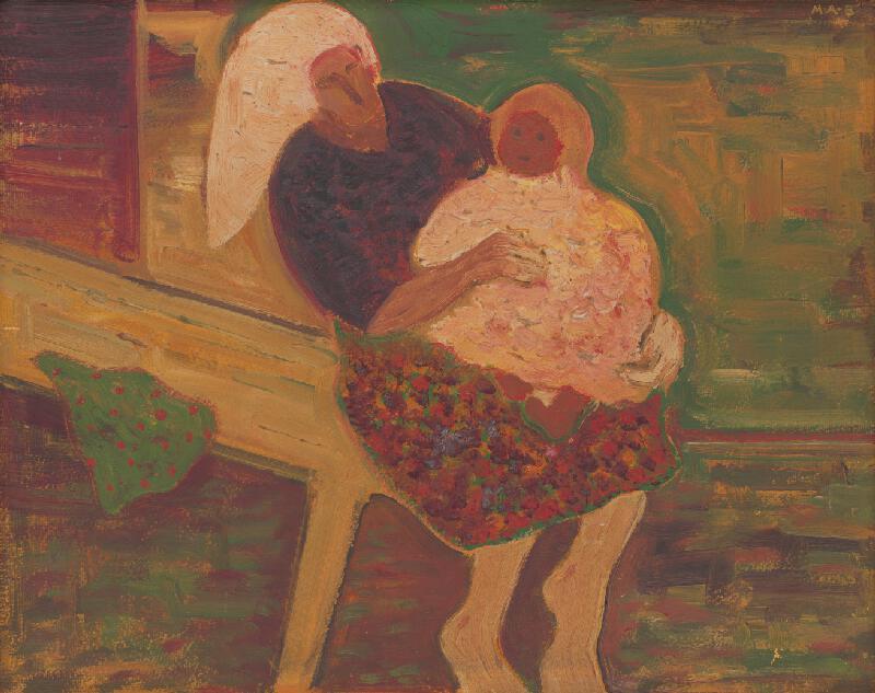 Miloš Alexander Bazovský - Materstvo